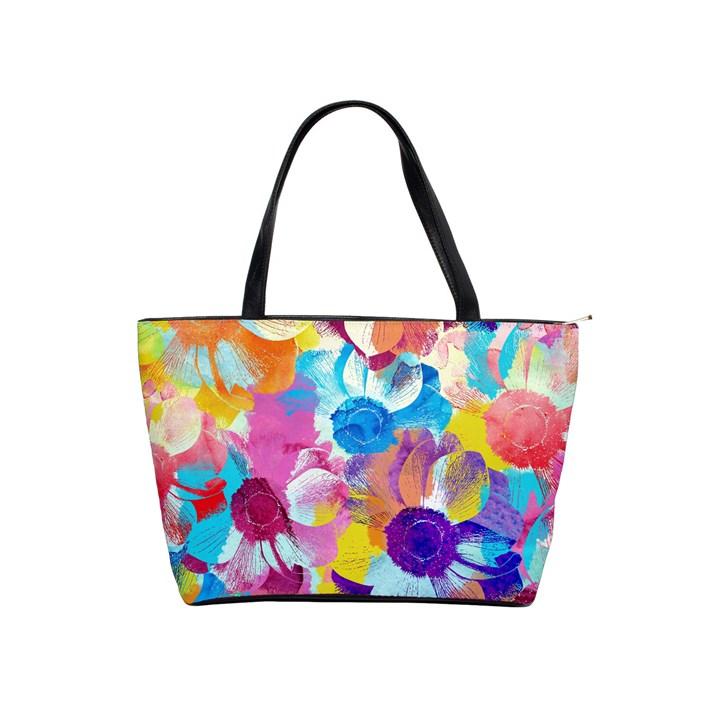 Anemones Shoulder Handbags