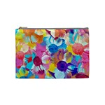 Anemones Cosmetic Bag (Medium)  Front