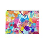 Anemones Cosmetic Bag (Large)  Front