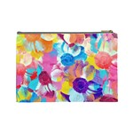 Anemones Cosmetic Bag (Large)  Back