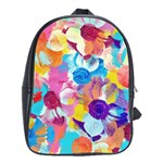 Anemones School Bags(Large)  Front