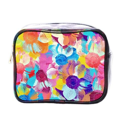 Anemones Mini Toiletries Bags
