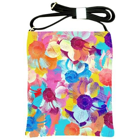 Anemones Shoulder Sling Bags