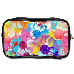 Anemones Toiletries Bags 2 Side