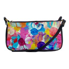 Anemones Shoulder Clutch Bags