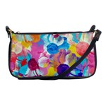 Anemones Shoulder Clutch Bags Front