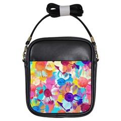 Anemones Girls Sling Bags