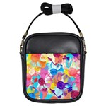Anemones Girls Sling Bags Front