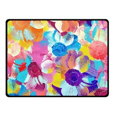Anemones Fleece Blanket (Small)
