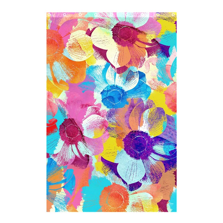 Anemones Shower Curtain 48  x 72  (Small)