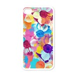 Anemones Apple iPhone 4 Case (White) Front