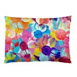 Anemones Pillow Case (Two Sides) Back