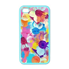 Anemones Apple Iphone 4 Case (color)