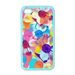 Anemones Apple iPhone 4 Case (Color) Front
