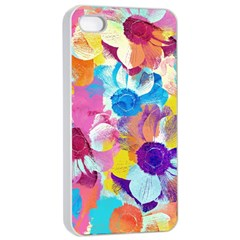 Anemones Apple Iphone 4/4s Seamless Case (white)
