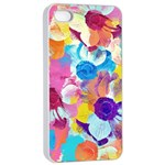 Anemones Apple iPhone 4/4s Seamless Case (White) Front