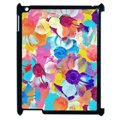 Anemones Apple iPad 2 Case (Black)