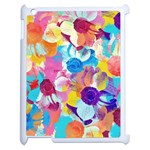 Anemones Apple iPad 2 Case (White) Front