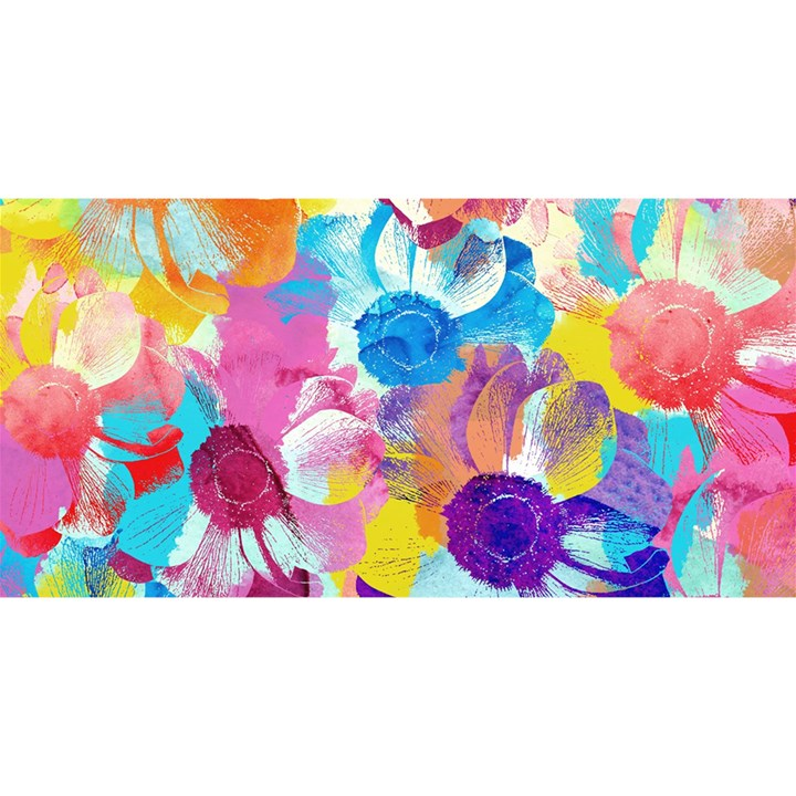 Anemones YOU ARE INVITED 3D Greeting Card (8x4)