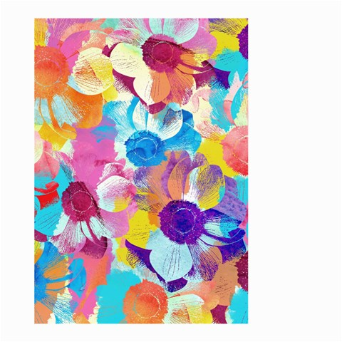 Anemones Large Garden Flag (Two Sides)