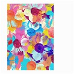 Anemones Large Garden Flag (Two Sides) Back