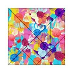 Anemones Acrylic Tangram Puzzle (6  x 6 )