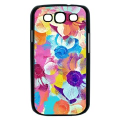 Anemones Samsung Galaxy S III Case (Black)