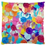 Anemones Large Cushion Case (Two Sides) Back