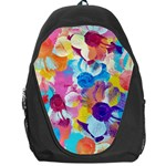 Anemones Backpack Bag Front
