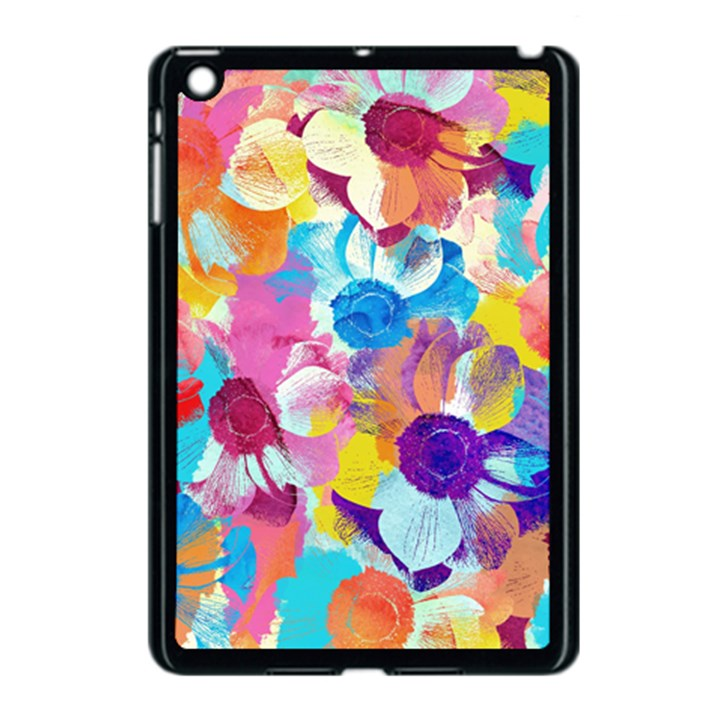 Anemones Apple iPad Mini Case (Black)