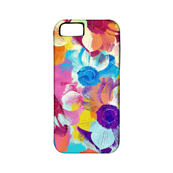 Anemones Apple iPhone 5 Classic Hardshell Case (PC+Silicone)