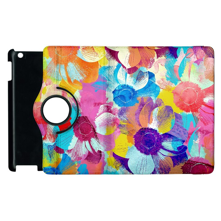 Anemones Apple iPad 2 Flip 360 Case