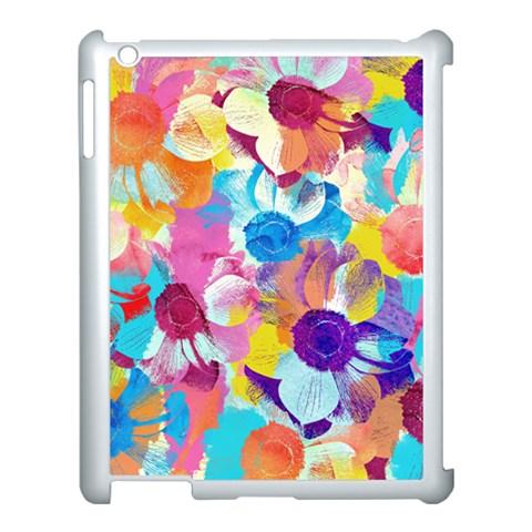 Anemones Apple iPad 3/4 Case (White)