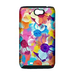 Anemones Samsung Galaxy Note 2 Hardshell Case (PC+Silicone)