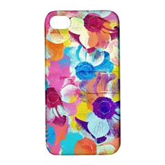 Anemones Apple iPhone 4/4S Hardshell Case with Stand