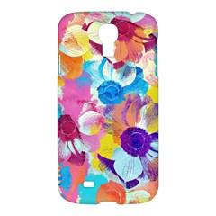 Anemones Samsung Galaxy S4 I9500/I9505 Hardshell Case