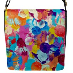 Anemones Flap Messenger Bag (S)