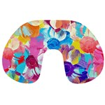 Anemones Travel Neck Pillows Front