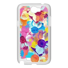 Anemones Samsung Galaxy Note 2 Case (White)