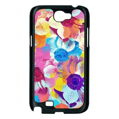 Anemones Samsung Galaxy Note 2 Case (Black)