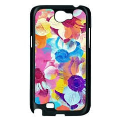 Anemones Samsung Galaxy Note 2 Case (Black)