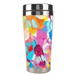 Anemones Stainless Steel Travel Tumblers Left