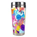 Anemones Stainless Steel Travel Tumblers Center