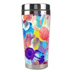 Anemones Stainless Steel Travel Tumblers Right
