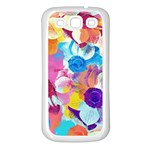 Anemones Samsung Galaxy S3 Back Case (White) Front
