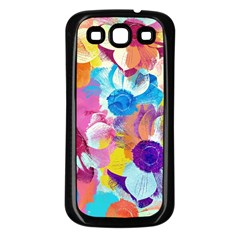 Anemones Samsung Galaxy S3 Back Case (black)