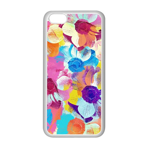 Anemones Apple iPhone 5C Seamless Case (White)