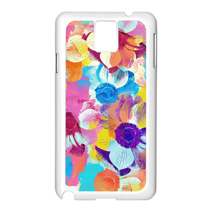 Anemones Samsung Galaxy Note 3 N9005 Case (White)