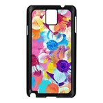 Anemones Samsung Galaxy Note 3 N9005 Case (Black) Front