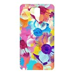 Anemones Samsung Galaxy Note 3 N9005 Hardshell Back Case Front